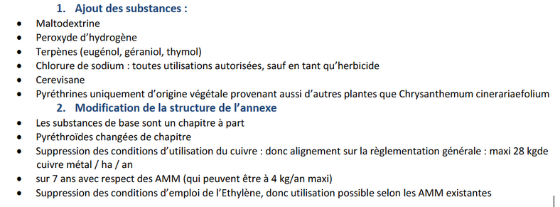 pesticides agriculture biologique
